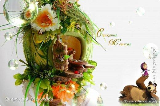 """"""" Маша и Медведь """"-любимые герои мульфильма для ваших любимок от меня...))) фото 3"""