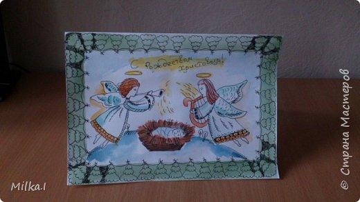 Новогодние открытки фото 8