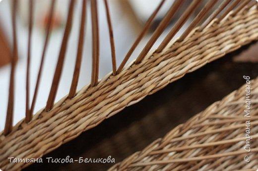 Фотоотчет о создании этой плетенки с картонным дном и не только этой) Надеюсь буду Вам полезной) фото 26