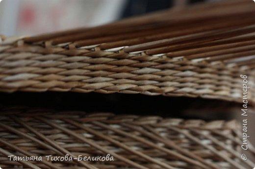 Фотоотчет о создании этой плетенки с картонным дном и не только этой) Надеюсь буду Вам полезной) фото 25