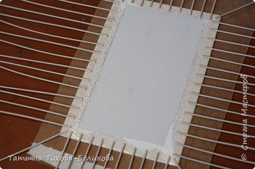 Фотоотчет о создании этой плетенки с картонным дном и не только этой) Надеюсь буду Вам полезной) фото 9