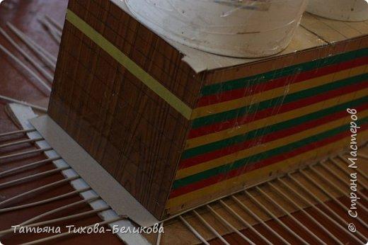 Фотоотчет о создании этой плетенки с картонным дном и не только этой) Надеюсь буду Вам полезной) фото 10