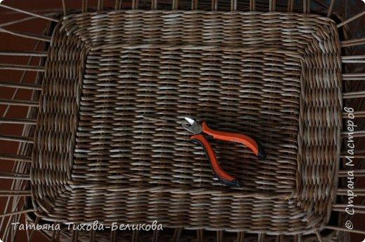 Фотоотчет о создании этой плетенки с картонным дном и не только этой) Надеюсь буду Вам полезной) фото 27