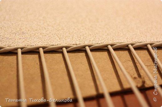 Фотоотчет о создании этой плетенки с картонным дном и не только этой) Надеюсь буду Вам полезной) фото 15