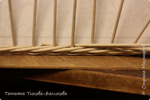 Фотоотчет о создании этой плетенки с картонным дном и не только этой) Надеюсь буду Вам полезной) фото 19