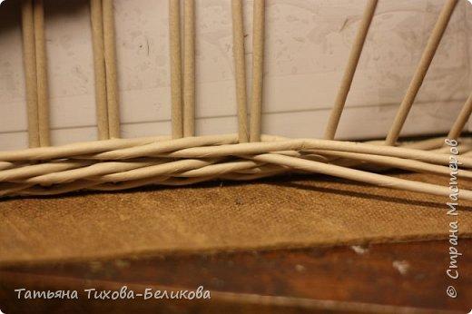 Фотоотчет о создании этой плетенки с картонным дном и не только этой) Надеюсь буду Вам полезной) фото 20