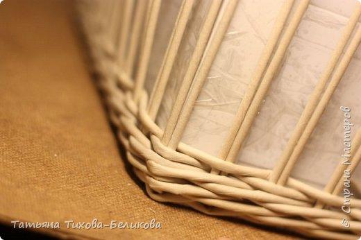 Фотоотчет о создании этой плетенки с картонным дном и не только этой) Надеюсь буду Вам полезной) фото 22