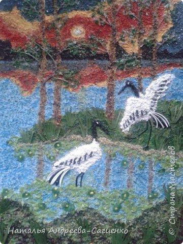 Картины из рыбьих костей и чешуи