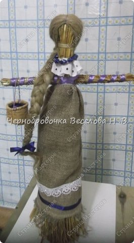 Предлагаю вам мастер-класс соломенной куклы  фото 10