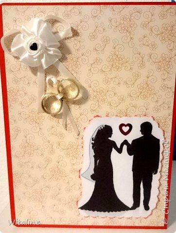 Начальная страничка, первая открытка для свадьбы! фото 3