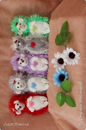 Вязанные ежики. фото 2