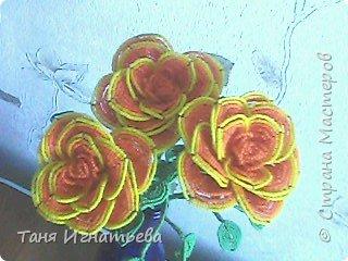 Розы с двойным кантом фото 1