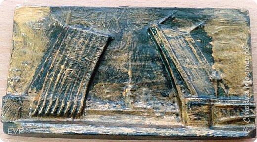 Подарки папам - гипсовый магнит с видами Санкт-Петербурга. фото 10