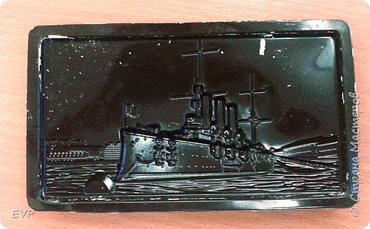 Подарки папам - гипсовый магнит с видами Санкт-Петербурга. фото 2