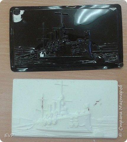 Подарки папам - гипсовый магнит с видами Санкт-Петербурга. фото 4