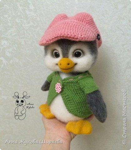 Пингвинчик(сухое валяние) фото 1