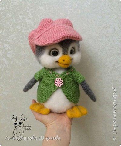 Пингвинчик(сухое валяние) фото 2