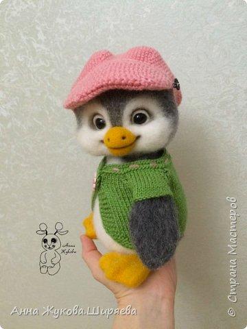 Пингвинчик(сухое валяние) фото 3