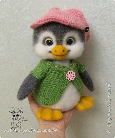 Пингвинчик(сухое валяние) фото 4
