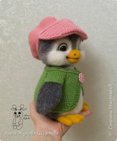 Пингвинчик(сухое валяние) фото 5