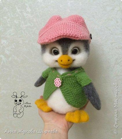 Пингвинчик(сухое валяние) фото 6