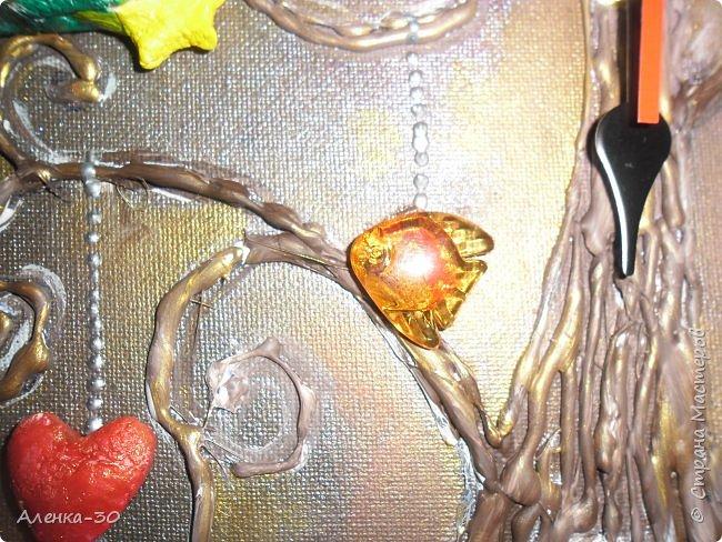 Всем добрый вечер. Увидела Часы с совятами так они мне понравились и хотелось повторить. А тут попросили сделать детские часы. И отталкиваясь от увиденного  родились мои часики. Давайте посмотрим.)))) фото 6