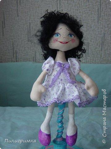 Куколка сшита из двунитки. фото 3