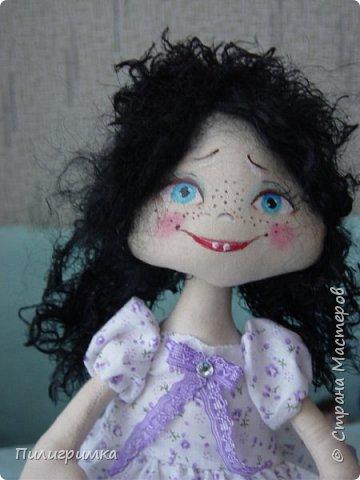 Куколка сшита из двунитки. фото 4