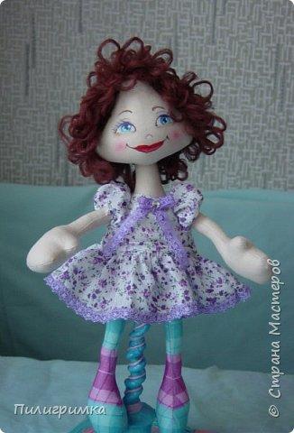Куколка сшита из двунитки. фото 5