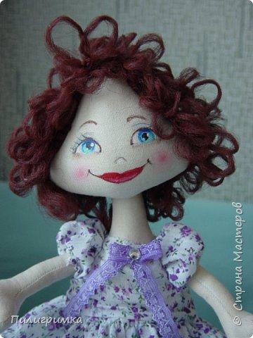 Куколка сшита из двунитки. фото 6
