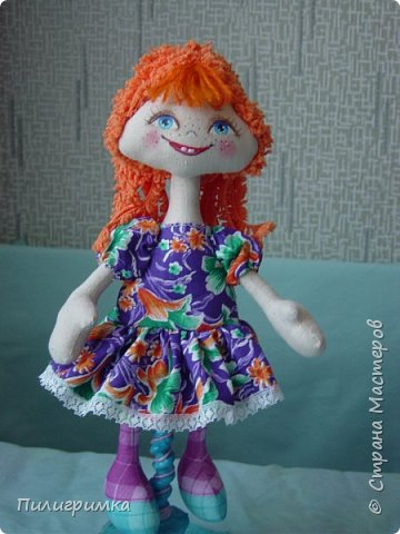 Куколка сшита из двунитки. фото 7