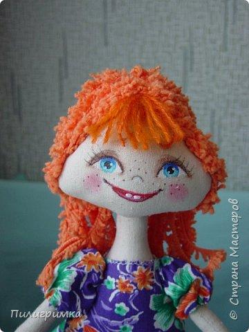 Куколка сшита из двунитки. фото 8