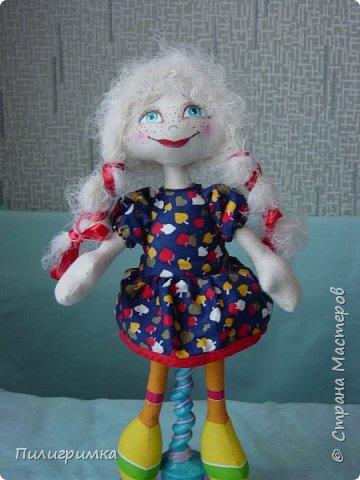 Куколка сшита из двунитки. фото 9
