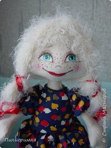 Куколка сшита из двунитки. фото 10