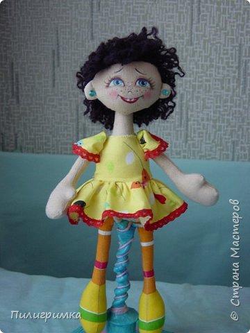 Куколка сшита из двунитки. фото 11