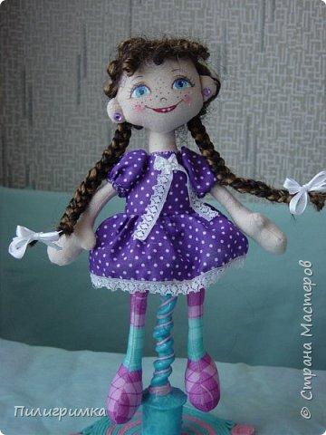 Куколка сшита из двунитки. фото 2