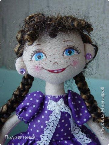 Куколка сшита из двунитки. фото 1