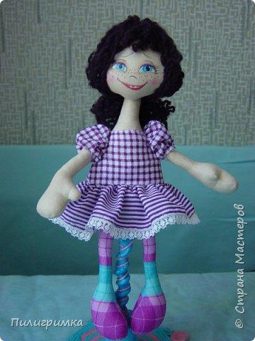 Куколка сшита из двунитки. фото 12