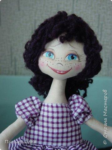 Куколка сшита из двунитки. фото 13