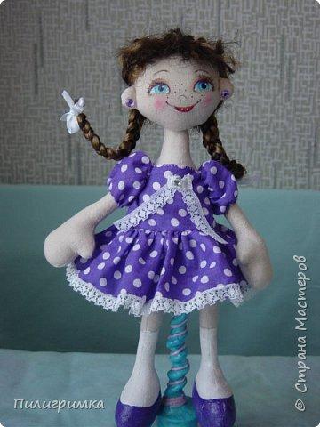 Куколка сшита из двунитки. фото 14