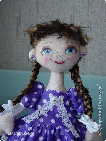 Куколка сшита из двунитки. фото 15