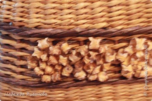 Хлебница и коробка. Хлебница овальной формы. Дно картон обои самоклеящиеся. У коробки дно тоже картонное с обоями. фото 4