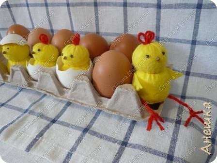 Милые цыплята делаются очень быстро, подходят для работы с детьми, украсят интерьер. Материалы потребуются самые минииальные фото 13
