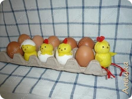 Милые цыплята делаются очень быстро, подходят для работы с детьми, украсят интерьер. Материалы потребуются самые минииальные фото 15