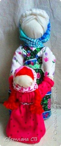 Кукла Ведучка или Ведущая в жизнь, в древние времена делалась женщиной для того чтобы быть мудрой и понимающей матерью, понимать потребности своего ребенка, и вывести его в жизнь. фото 3