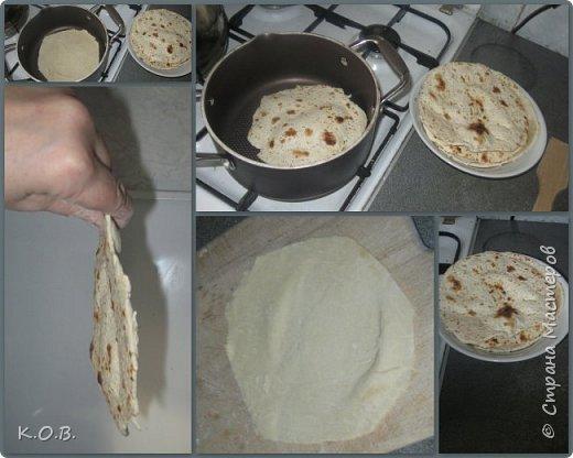Быстрый Армянский лаваш дома фото 2