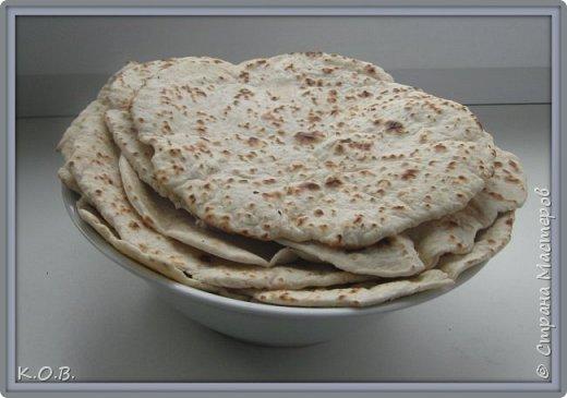 Быстрый Армянский лаваш дома фото 1