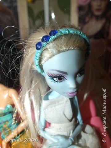 Ободки для кукол Монстр хай. фото 5
