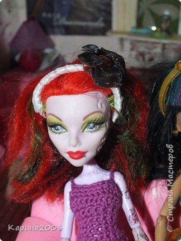 Ободки для кукол Монстр хай. фото 3