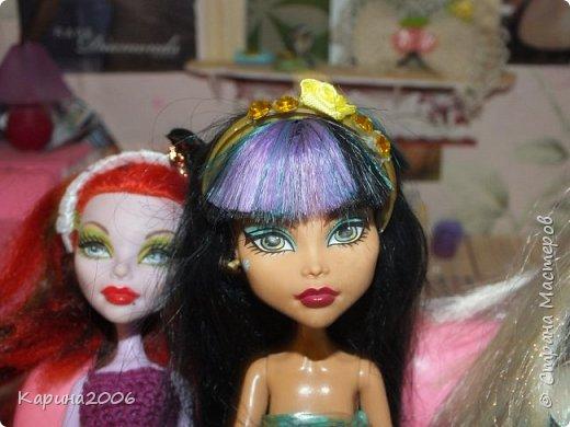Ободки для кукол Монстр хай. фото 4